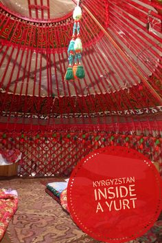 Sleep in yurt- your next travel challenge, Kyrgyzstan, Central Asia