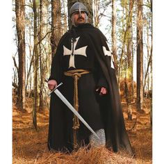 Hospitaller surcoat and cloak