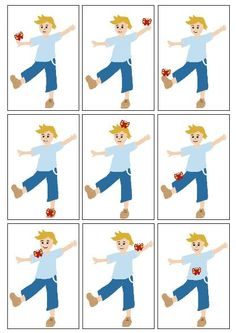 Gross Motor, Asd, Kindergarten, Clip Art, Activities, Children, Learning Styles, Speech Language Therapy, Gross Motor Activities