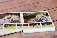 Queensberry Engagement Album | Debbie Wallwork Photography #portraitalbum