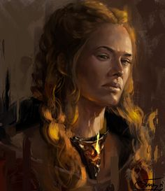 Cersei Lannister - Game of Thrones - Luu Minh Tien