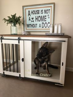 KK Custom Crates #dogcratefurniture