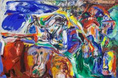 Asger Jorn, In the Beginning was the Image (Im Anfang war das Bild), 1965