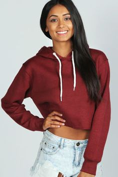 cropped hoodie! Get ready for Fall Get 7% Cash Back http://www.studentrate.com/all/get-all-student-deals/Boohoo-com-Student-Discounts--/0