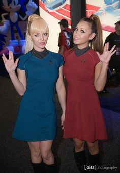 Star Trek cosplay.