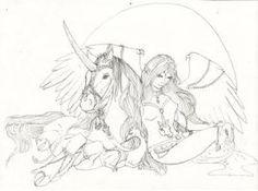Malcarnus and Tariel by pegacorna2