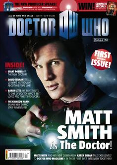 So the cover says, Matt Smith IS the Doctor...is that possible to be said about every one of them? Right? I mean 1-11, they were all the Doctor...and yes we have our attachments to specific ones just as the companions do...