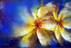 """I so they will not die"""" Frida Kahlo. Pastel on paper."""