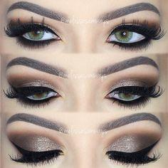 Really big eyelashes. Wow.