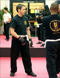 Robert Downey Jr. - wing chun workout