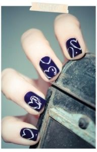 Nail design is very much attractive