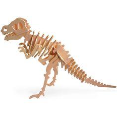 3-D Wooden T-Rex Puzzle