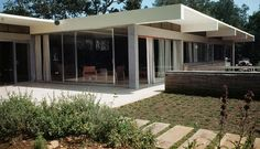 Richard Neutra - 1948 - The Warren D. and Katharine Tremaine House, 1636 Moore Road, Montecito area of Santa Barbara CA.