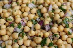 Lemon Chickpea Salad - 8 Easy Vegan Recipes You Need To Try | Her Campus