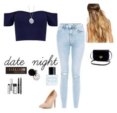 """""""date night"""" by alexbetancourt on Polyvore featuring Dorothy Perkins, Johnny Loves Rosie, Karen Kane, Forever 21, Marc Jacobs and Bobbi Brown Cosmetics"""