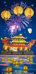 Backdrop OR056 Oriental Celebration Panel 2