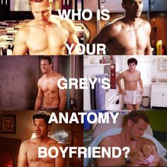 """Who Is Your """"Grey's Anatomy"""" Boyfriend. You got: Dr. Jackson Avery Jackson is fun-loving, caring, and always there for people when they're in need. He's also extremely handsome, and his eyes are beautiful. You've got yourself a keeper."""