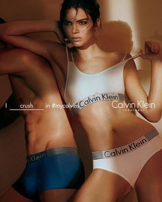More to share: Kendall Jenner shared this Calvin Klein Underwear ad on Wednesday after posting three new ones in black earlier in the week