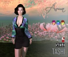 TASHI Arun | A new round of the OMG Room is here and inspired by the lovely cherry blossom trees and the colors of the flowers come this 2 new items  This event begins on September 2nd