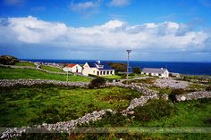 Houses, Inishmore, Aran Islands by Seven Seconds Before Sunrise, via Flickr