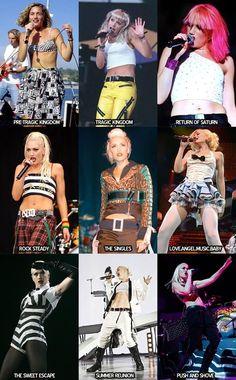 Gwen through the eras.