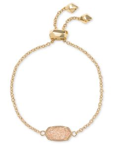 Try the Elaina Gold Adjustable Chain Bracelet in Sand Drusy. Upgrade your style, stack this versatile adjustable gold chain bracelet or wear it alone. Kendra Scott Bracelet, Kendra Scott Jewelry, Sons Girlfriend, My Birthstone, Rose Quartz, Gold Chains, Jewelry Collection, Jewelry Box, Amethyst