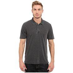 (スレッズ・フォー・ソート) Threads 4 Thought メンズ トップス 半袖シャツ The Blake Polo 並行輸入品  新品【取り寄せ商品のため、お届けまでに2週間前後かかります。】 カラー:Black 商品番号:sh2-8724408-3