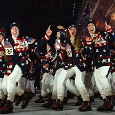 Winter Olympics 2014 - not crazy about the RL sweaters....