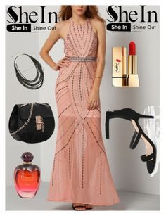 """""""SheIn III/4"""" by m-sisic ❤ liked on Polyvore featuring Yves Saint Laurent and Christian Dior"""