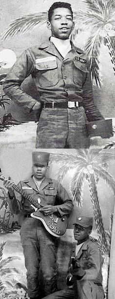Jimi Hendrix in the Army, 1961-1962