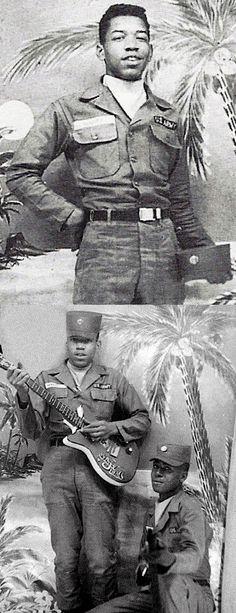 Jimi Hendrix in the Army, 1961-1962