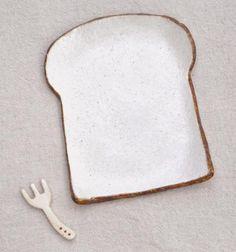 食パンの皿(レギュラー) - 716雑貨