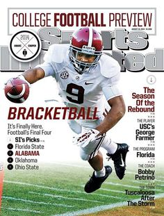 The August 18 issue of Sports Illustrated including the 2014 College Football Preview is now available at J Drake Edens Library