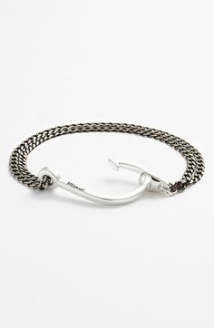 Miansai Silver Hook Chain Bracelet available at #Nordstrom