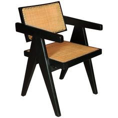 Pierre Jeanneret, Armchair | From a unique collection of antique and modern armchairs at http://www.1stdibs.com/furniture/seating/armchairs/