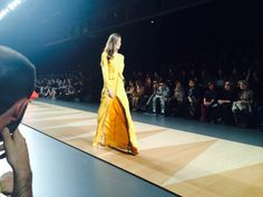 Desfile de Juanjo Olivo en la Fashion Week Madrid 2014
