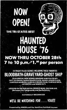 Haunted Attractions, Ghost Ship, Wax Museum, Classic, Derby, Classic Books