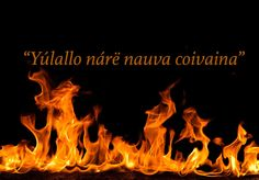 """""""From the ashes a fire shall be woken."""" 