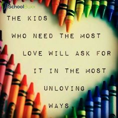 Quote about special education teacher quotes unique the kids who need love most will always ask Special Education Quotes, Education Quotes For Teachers, Special Education Teacher, Primary Education, India Education, Education Galaxy, Texas Education, Education City, Early Education