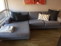 FINN – 3-seter, Hjørnesofaer, Akershus+Oslo, Torget Oslo, Couch, Furniture, Home Decor, Settee, Decoration Home, Sofa, Room Decor, Home Furnishings