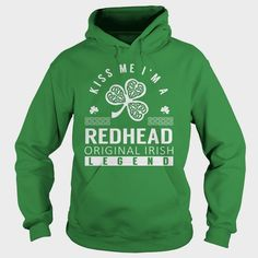 Kiss Me #REDHEAD Last Name, Surname T-Shirt, Order HERE ==> https://www.sunfrog.com/Names/Kiss-Me-REDHEAD-Last-Name-Surname-T-Shirt-Green-Hoodie.html?53624, Please tag & share with your friends who would love it , #christmasgifts #birthdaygifts #renegadelife