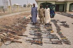 See The Weapons Repentant Bandits Surrendered To Soldiers In Zamfara (Photos)  http://ift.tt/2mqrQX4