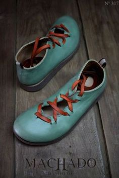 aqua with rusty laces