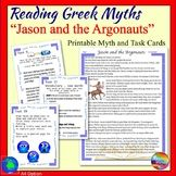 Greek Myth JASON and the ARGONAUTS Text & Task Cards Conne