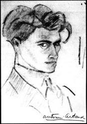autorretrato 1915 Artaud.