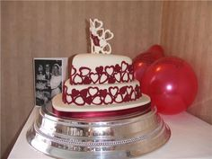Google Image Result for http://www.bespokecelebrationcakes.co.uk/wp-content/uploads/2012/01/40th-Wedding-Anniversary-Cake.jpg