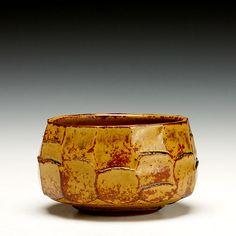 Schaller Gallery | Warren MacKenzie  | Faceted Bowl Warren Mackenzie, Ceramic Artists, Pottery Ideas, Glaze, Decorative Bowls, American, Gallery, Creative, Design