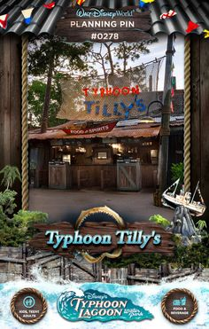 Walt Disney World Planning Pins: Typhoon Tilly's