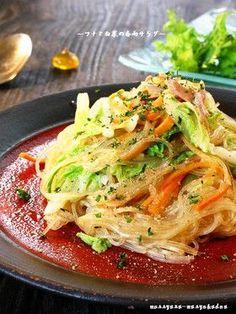 ■超うまい!白菜とツナの春雨サラダ■