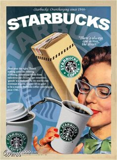 Starbucks from 1946????